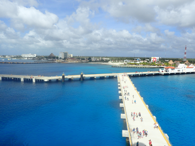 Cozumel's port